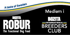 Våra hundar äter svenskproducerat foder: